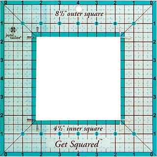 Get Squared 8.5-inch Outer/ 4.5-inch Inner Ruler