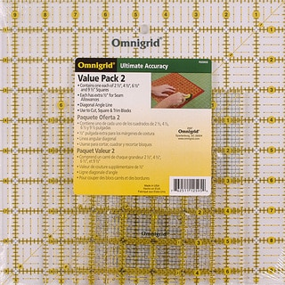Omnigrid Quilter's Square Set (Pack of 4)
