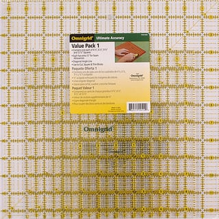 Omnigrid Acrylic Quilter's Square Set (Pack of 4)|https://ak1.ostkcdn.com/images/products/3128049/P11255605.jpg?impolicy=medium