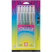 Sakura Gelly Roll Stardust Bold Pens (Pack of 6)