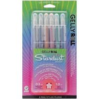 Gelly Roll Stardust Meteor Pens (Pack of 6)