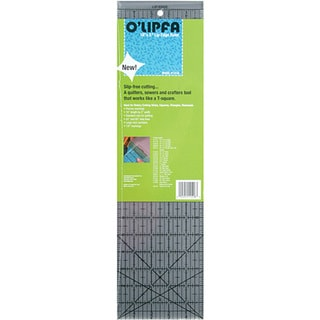 O'lipfa Plastic Craft Ruler with Lip Edge