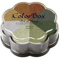 Color Box 'Petal Point' Eight-color Removable Pigment Inkpad