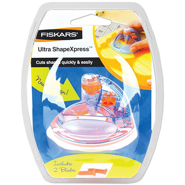 Fiskars Ultra Shape Xpress Craft Tool (Ultra ShapeXpress)...