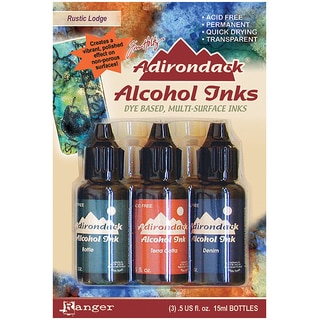 Adirondack Rustic Lodge Alcohol Ink (3-pack)