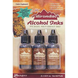 Adirondack Cabin Cupboard Alcohol Ink (Pack of 3)|https://ak1.ostkcdn.com/images/products/3128253/P11255753.jpg?impolicy=medium