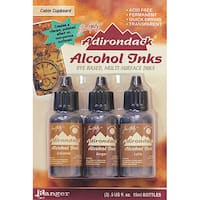 Adirondack Cabin Cupboard Alcohol Ink (Pack of 3)