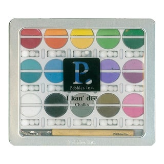 Pebbles I Kan'dee Basic Brights Chalk Set