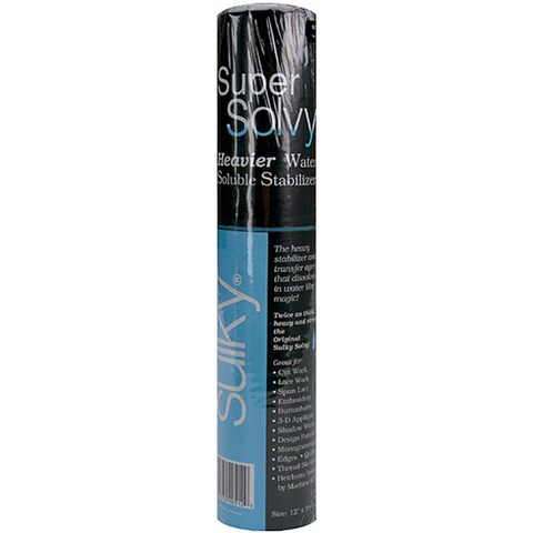 Sulky Super Solvy Heavier Water Soluble Stabilizer