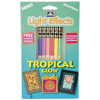 DMC Light Effects Tropical Glow Floss Pack