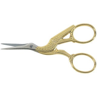 Gingher 3.5-inch Stork Embroidery Scissors