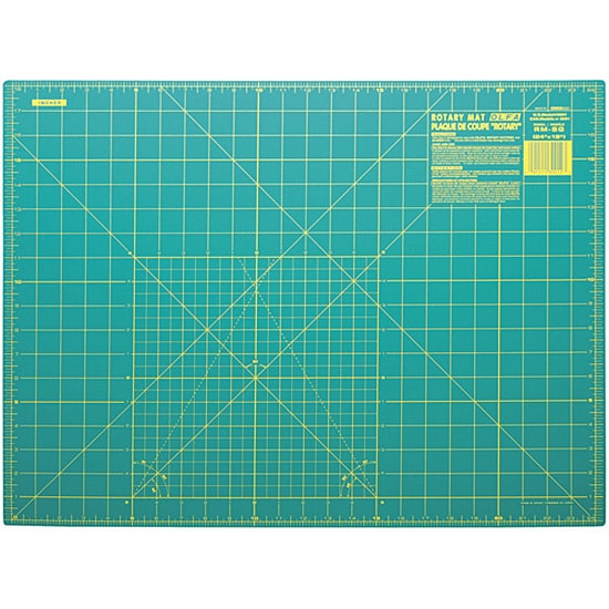 Shop Olfa 18x24 Gridded Cutting Mat Free Shipping On