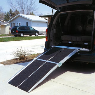 Portable 10-foot Multifold Utility Ramp