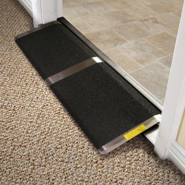 12-inch Threshold R& & 12-inch Threshold Ramp - Free Shipping Today - Overstock - 11258116