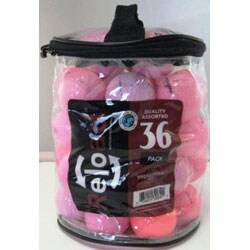 Pack of 72 Optic Pink Golf Balls (Recycled)