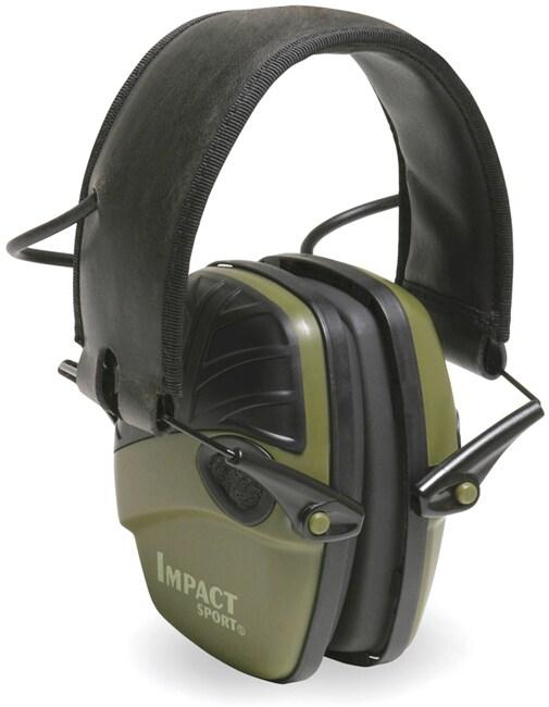 Howard Leight Impact Sport OD Green Electric Earmuff