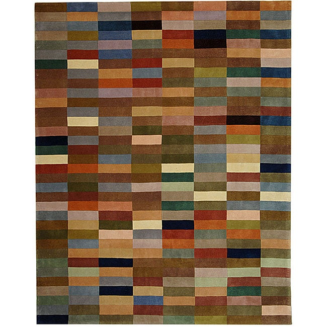 Safavieh Handmade Rodeo Drive Modern Abstract Multicolored Rug (9' x 12') - Thumbnail 0