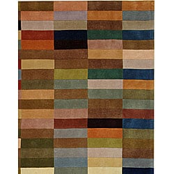 Safavieh Handmade Rodeo Drive Modern Abstract Multicolored Rug (9' x 12') - Thumbnail 1