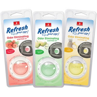Refresh Your Car! Scented Oil Diffuser (Pack of 4)