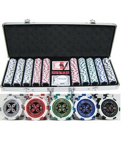 Ultimate 500-piece Poker Chip Set