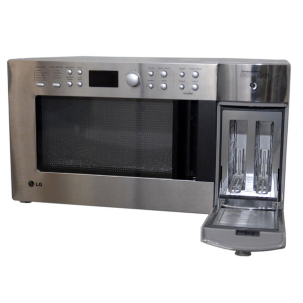 LG Stainless Steel Finish Microwave/ Toaster Combo (Refurb) - Free ...