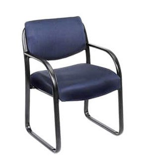 Boss Steel Frame Fabric Guest Chair (3 options available)