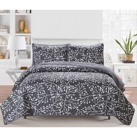 Harper Lane Branches 3-piece Quilt Set