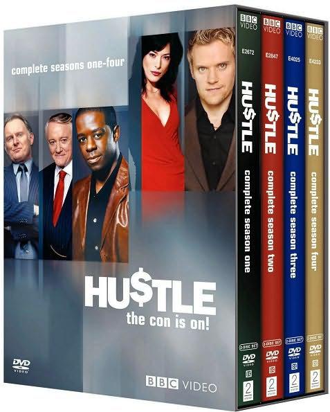 Hustle: Complete Seasons 1-4 (DVD)