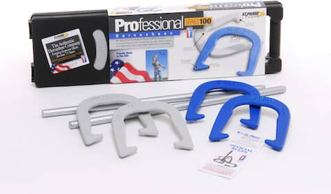 St. Pierre Sports American Professional Forged-steel Horseshoe Set - 26.75 x 7.75 x 2.25