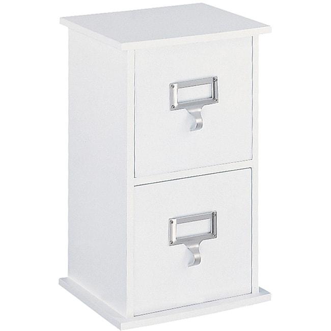 Organize It All Cardinal 2-drawer CD Organizer