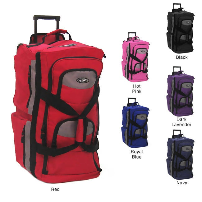 Travel Luggage Cover Flying Red Purple Blue Yellow Butterflies Suitcase Protector