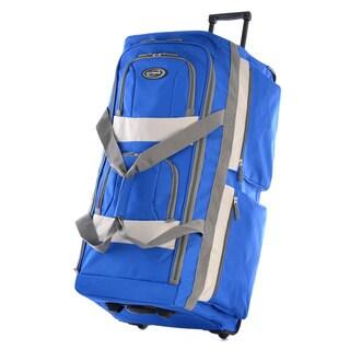 Olympia 29-inch 8-pocket Rolling Upright Duffel Bag