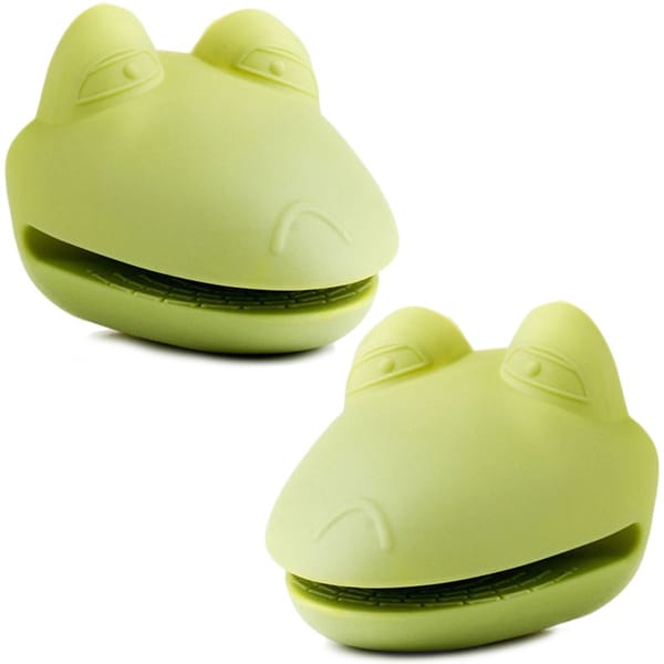 Kitchen Kritters Silicone Frog Pot Holders (Set of 2). Opens flyout.