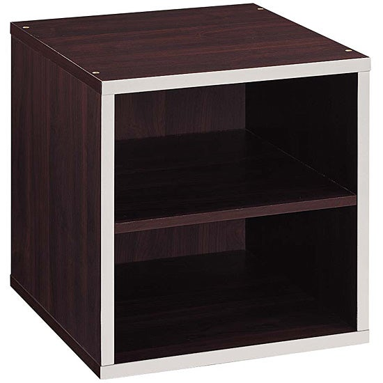 Quadrant 2-tier Storage Cube