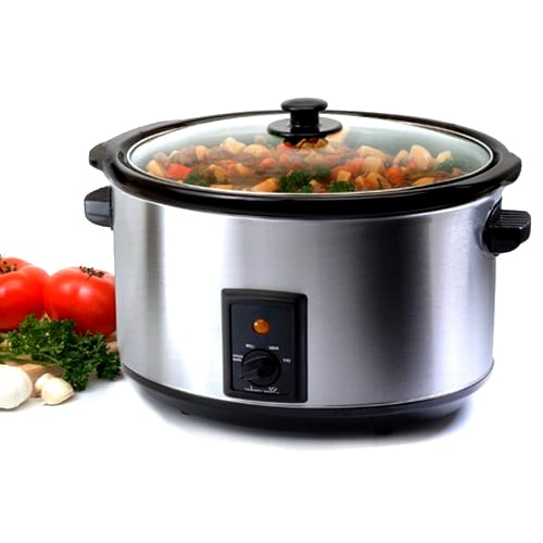 Stainless Steel 8.5-quart Slow Cooker - Thumbnail 0