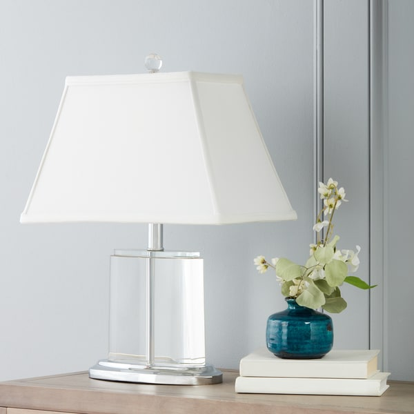 Clay alder home crystal oval table lamp