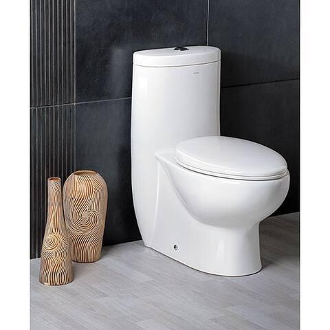 Ariel Platinum 'The Hermes' Dual Flush Toilet