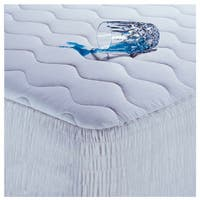 Beautyrest 400 Thread Count Cotton Protection Mattress Pad