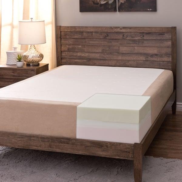 Comfort Dreams Select-A-Firmness 11-inch Twin-size Memory Foam Mattress