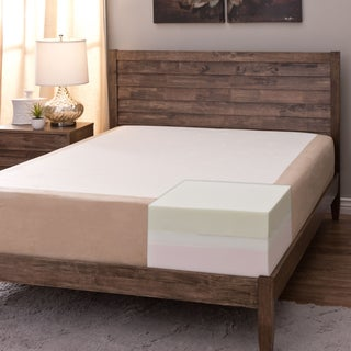 Comfort Dreams Select-A-Firmness 11-inch Queen-size Memory Foam Mattress - Beige/White (3 options available)