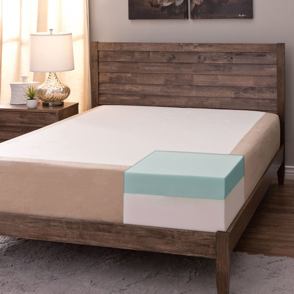Comfort Dreams Select-A-Firmness 11-inch Queen Memory Foam Mattress