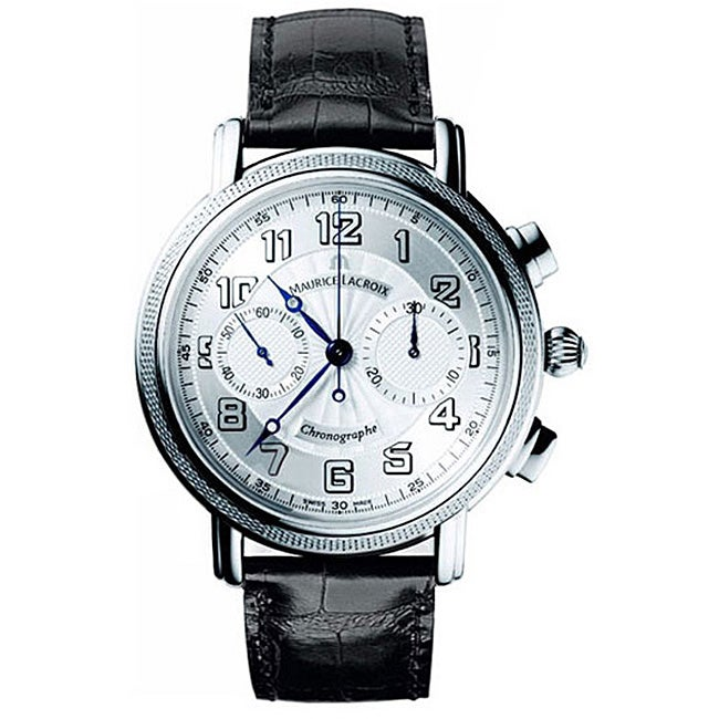 Maurice Lacroix Masterpiece Men's MP7038-WG101-120 Limited Edition 'Venus' Black Watch