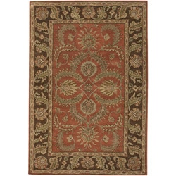 Artist's Loom Hand-tufted Traditional Oriental Wool Rug (7'9x10'6) - Thumbnail 0