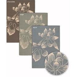 Artist's Loom Handmade Flatweave Transitional Floral Wool Rug (7'9x10'6)