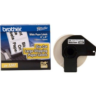 Brother DK1241 - Large Shipping White Paper Labels