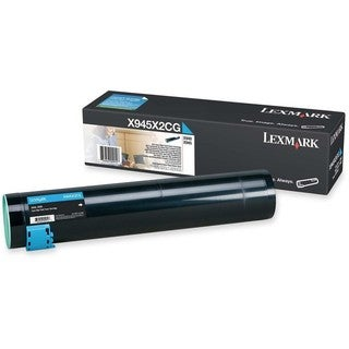 Lexmark High Yield Cyan Toner Cartridge