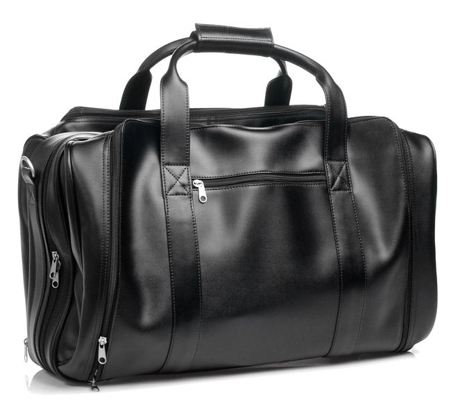 Royce Leather 21-inch Expandable Carry On Duffel Bag - Thumbnail 0
