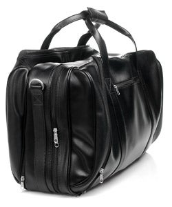 Royce Leather 21-inch Expandable Carry On Duffel Bag - Thumbnail 2