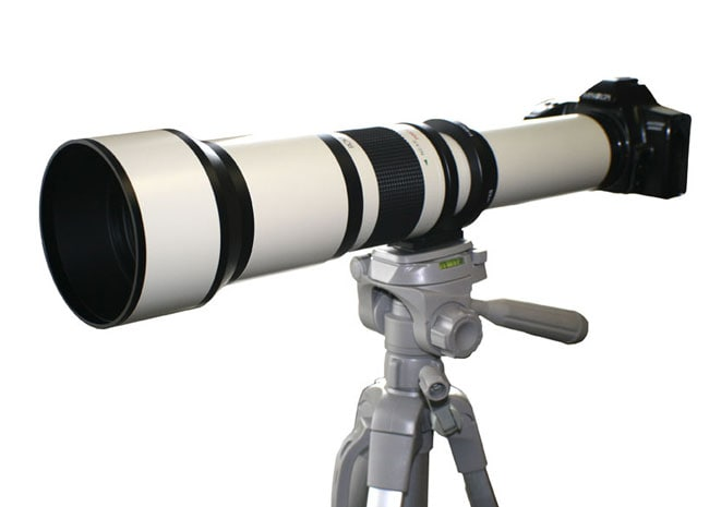 Rokinon 650-1300 mm Zoom Lens for Canon EOS Mount