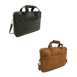 Piel Slim Leather Briefcase